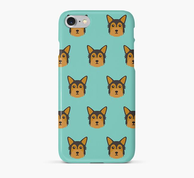 Phone Case with Chorkie Icons