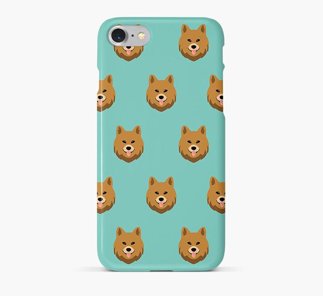 Phone Case with Chow Shepherd Icons
