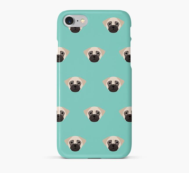 Phone Case with Chug Icons