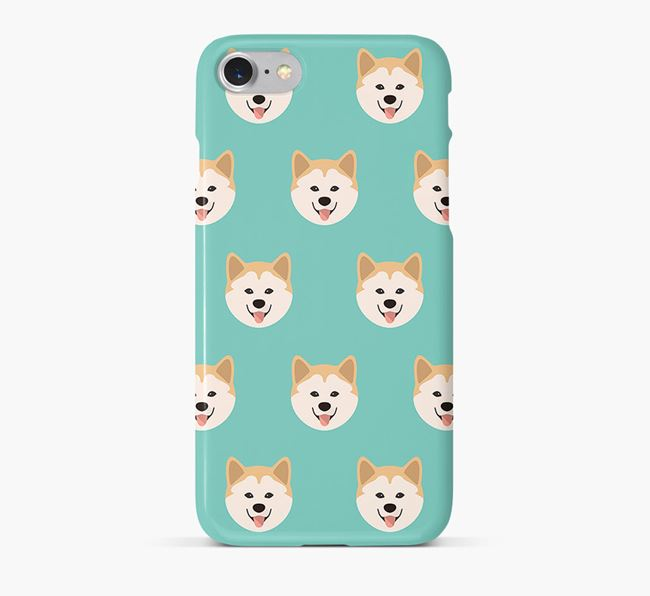 Phone Case with Chusky Icons