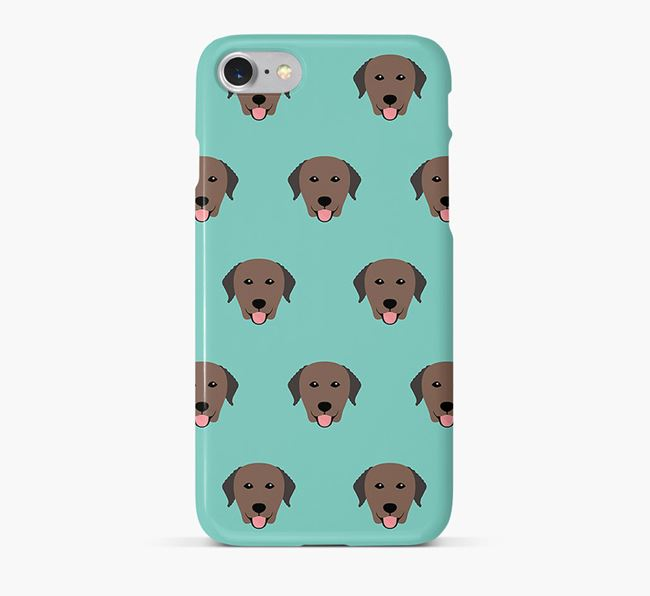 Phone Case with Curly Icons