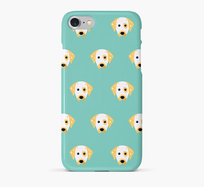 Phone Case with Dalmatian Icons
