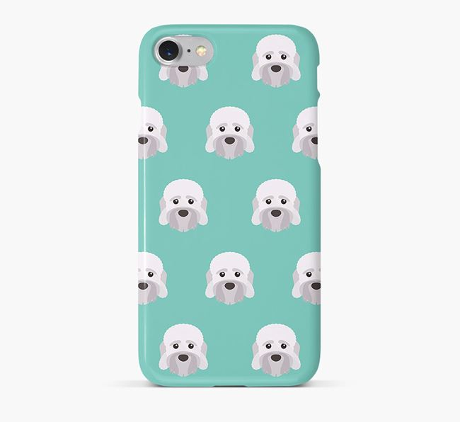 Phone Case with Dandie Dinmont Icons