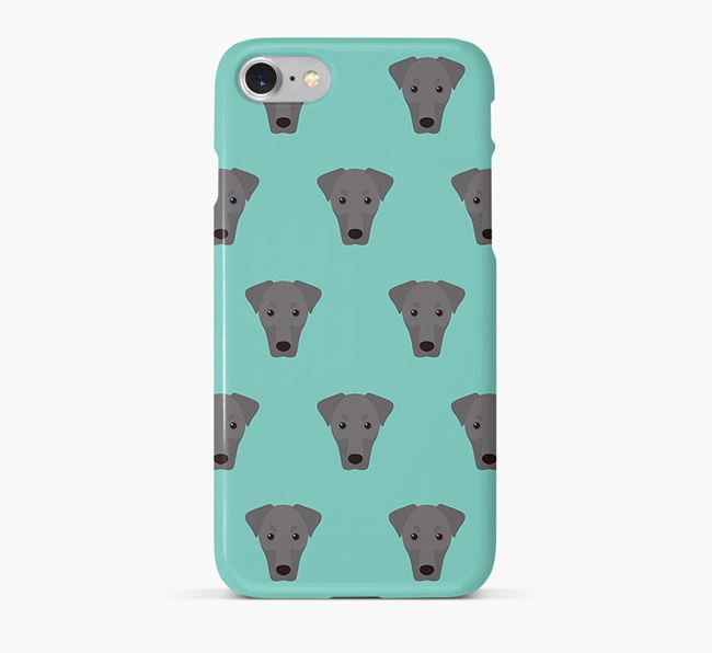 Phone Case with Dobermann Icons