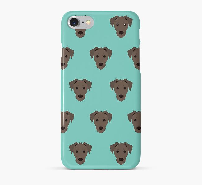 Phone Case with Dorkie Icons