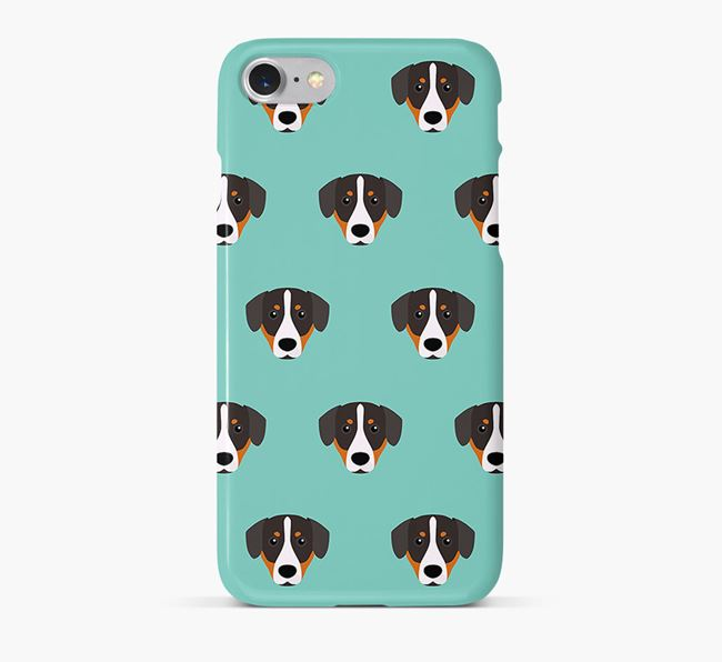 Phone Case with Entlebucher Icons
