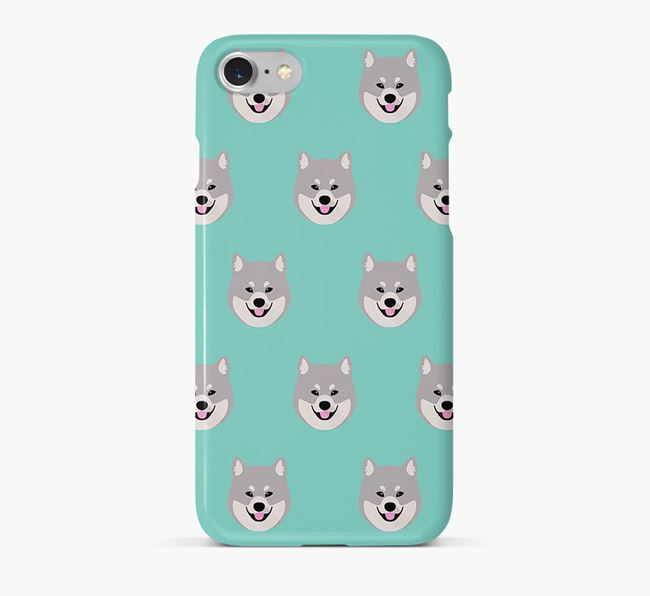 Phone Case with Eurasier Icons