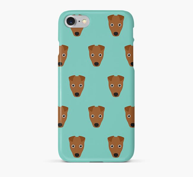 Phone Case with Fox Terrier Icons