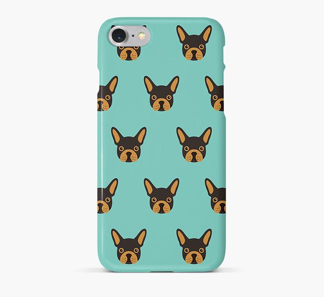 Phone Case with Frenchie Icons