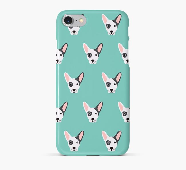 Phone Case with French Bull Jack Icons
