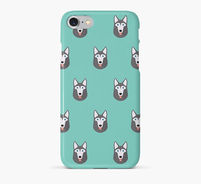 Phone Case with Gerberian Shepsky Icons