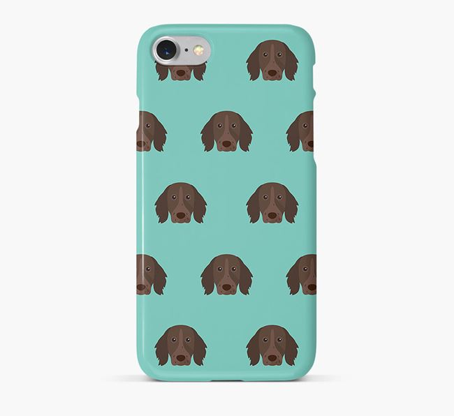 Phone Case with Longhaired Pointer Icons