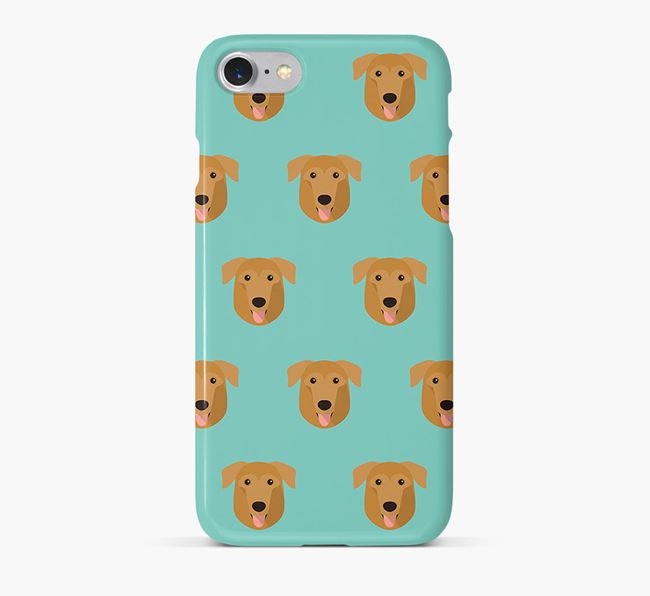 Phone Case with German Sheprador Icons
