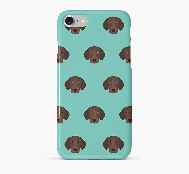 Phone Case with Shorthaired Pointer Icons