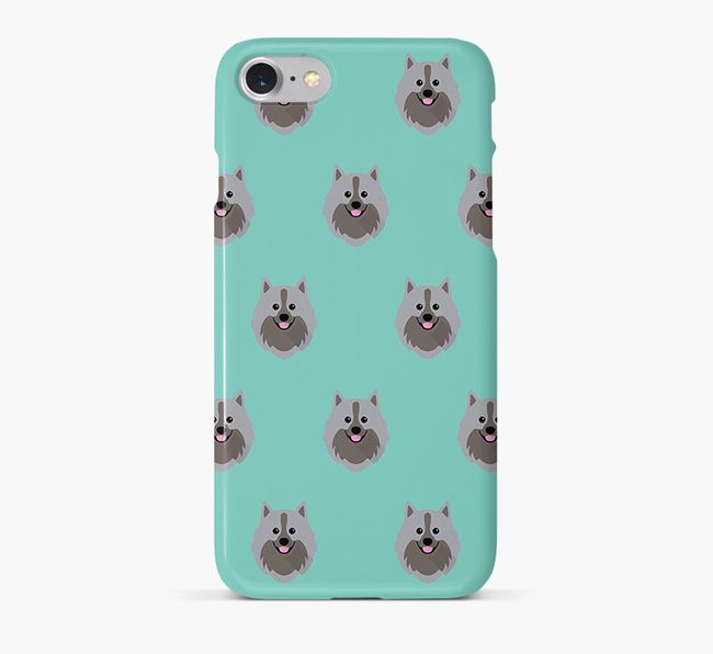 Phone Case with German Spitz Icons