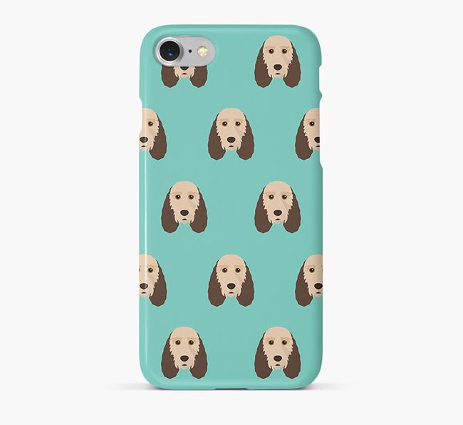Phone Case with Basset Griffon Icons