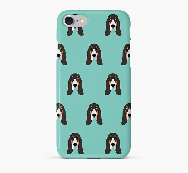 Phone Case with Grand Bleu Icons