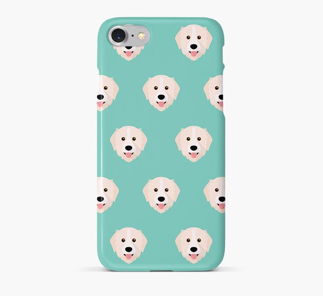 Phone Case with Great Pyrenees Icons