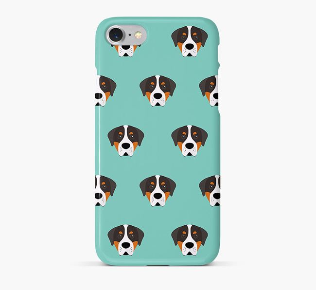 Phone Case with Swissy Icons