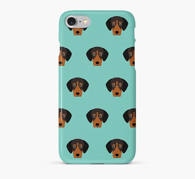Phone Case with Greek Harehound Icons