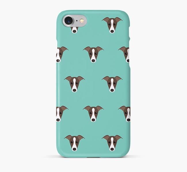 Phone Case with Greyhound Icons