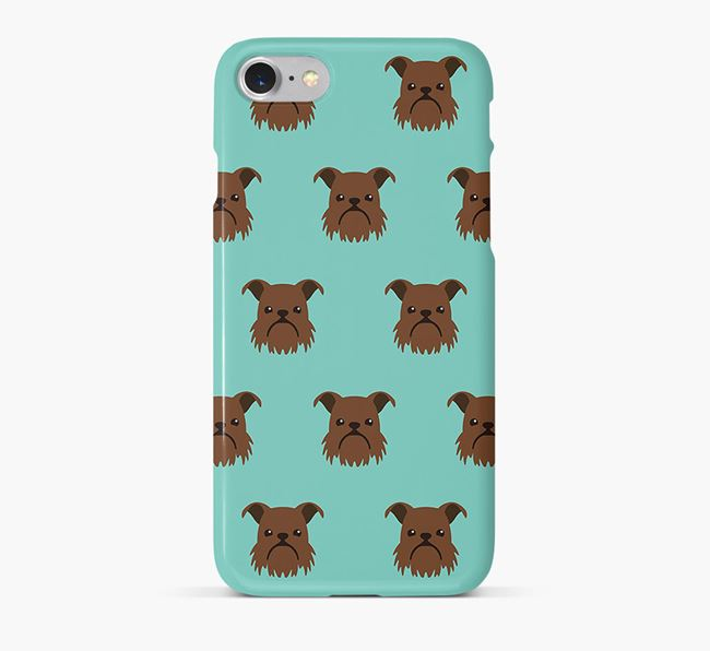 Phone Case with Brussels Griffon Icons