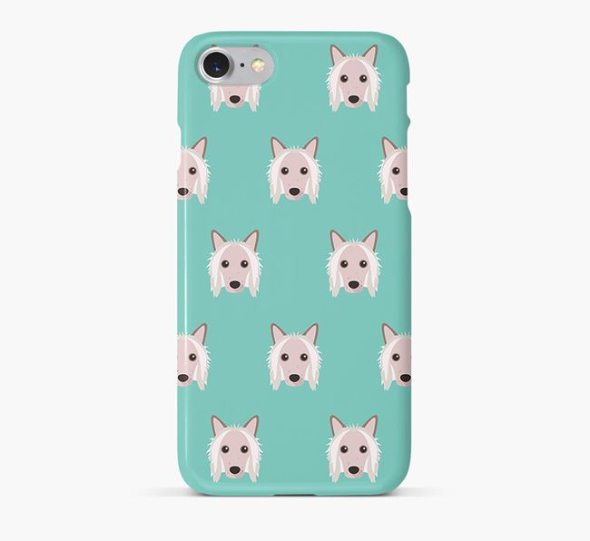 Phone Case with Chinese Crested Icons