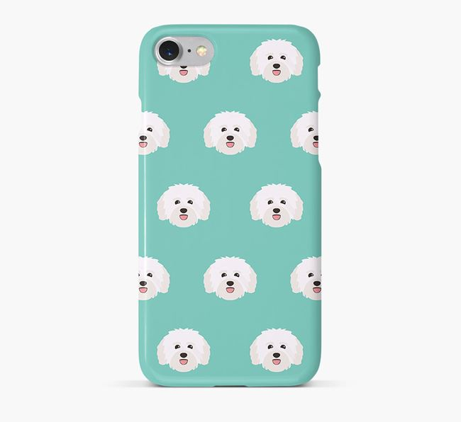 Phone Case with Havanese Icons