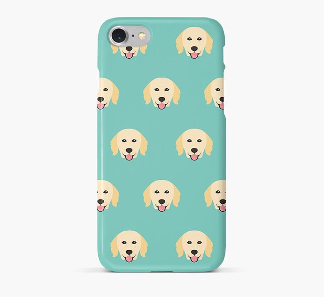 Phone Case with Hovawart Icons