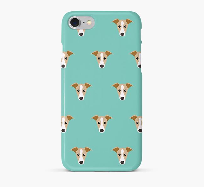Phone Case with Italian Greyhound Icons