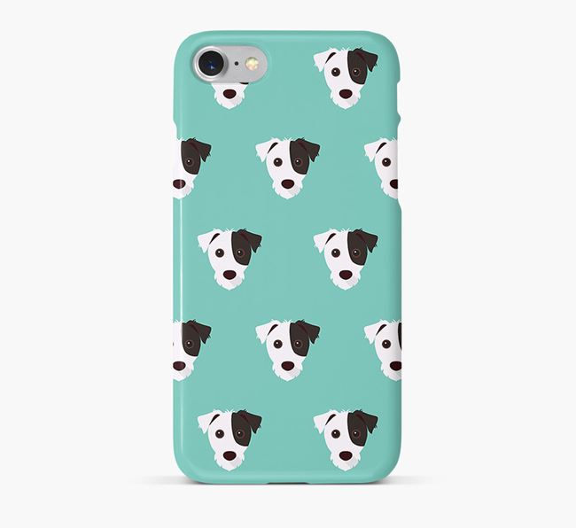 Phone Case with Jack Russell Icons