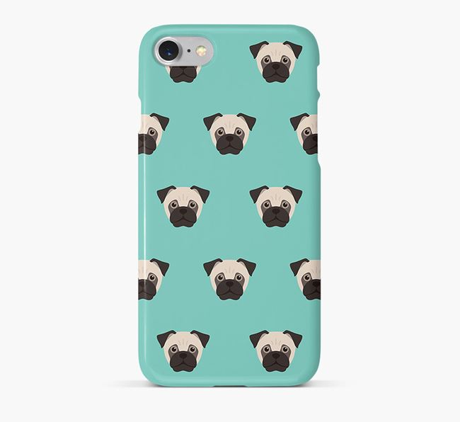 Phone Case with Jug Icons