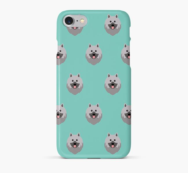 Phone Case with Keeshond Icons
