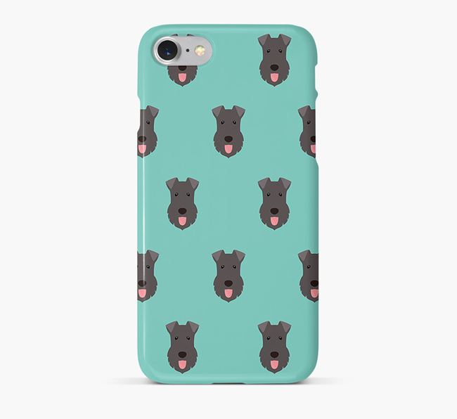 Phone Case with Kerry Blue Icons