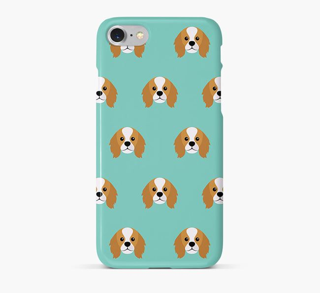 Phone Case with King Charles Icons