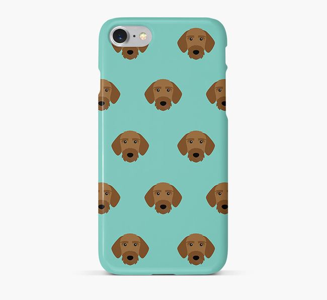 Phone Case with Korthals Griffon Icons