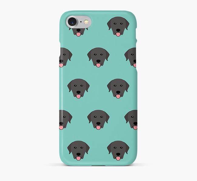 Phone Case with Labrador Icons