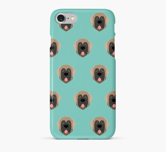 Phone Case with Leonberger Icons