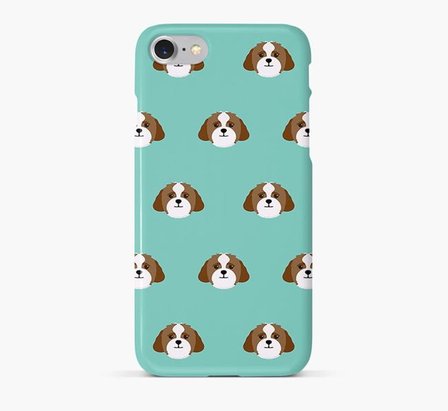Phone Case with Lhasapoo Icons