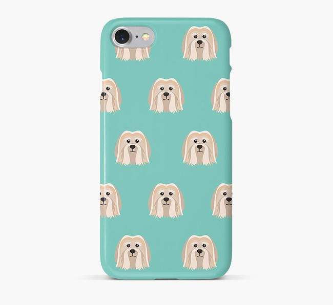 Phone Case with Löwchen Icons