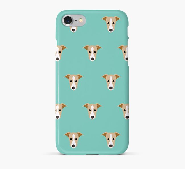 Phone Case with Lurcher Icons
