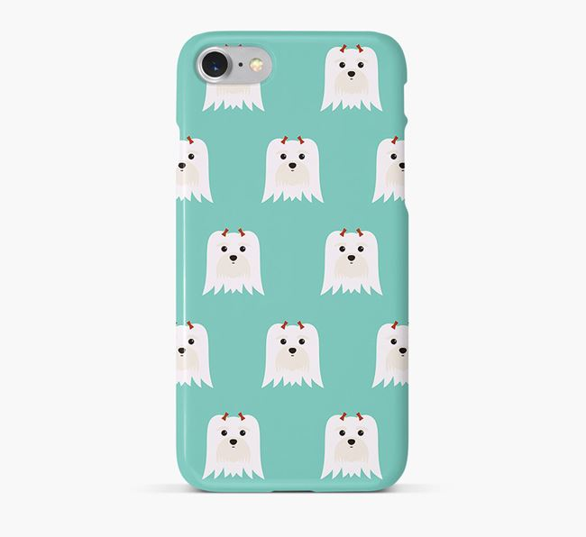 Phone Case with Maltese Icons