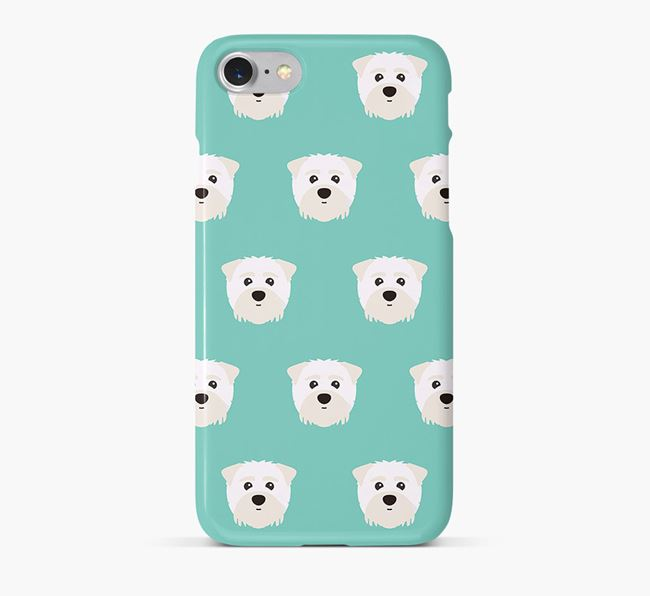 Phone Case with Maltipom Icons
