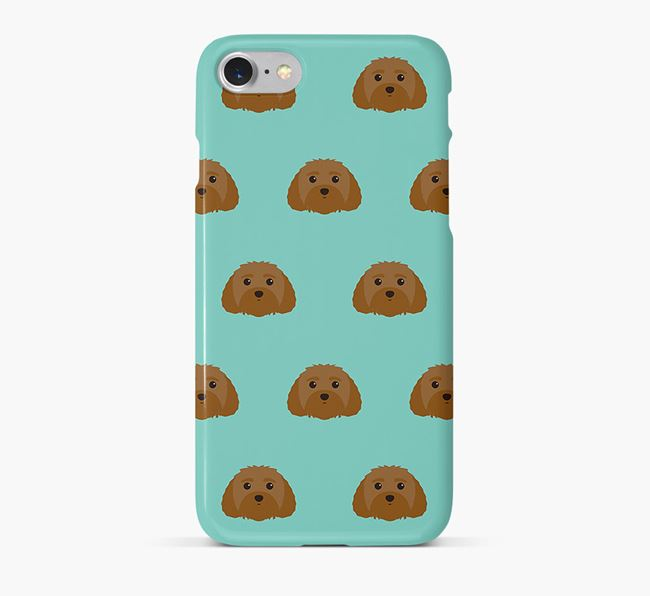 Phone Case with Malti-Poo Icons