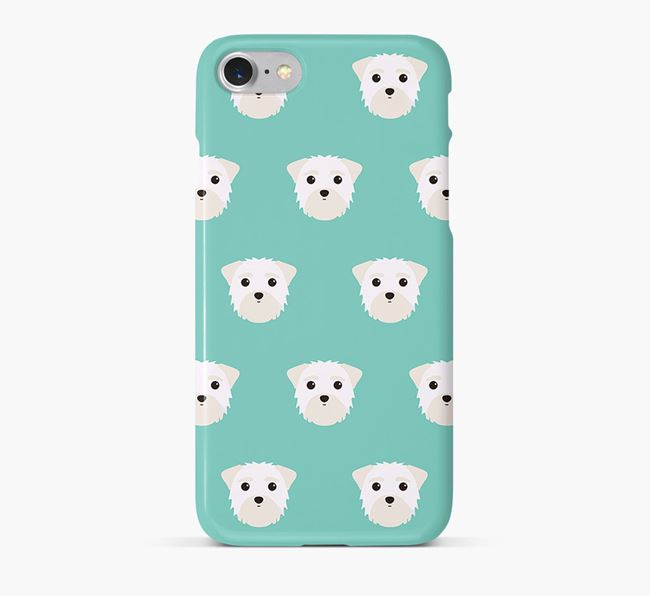 Phone Case with Morkie Icons