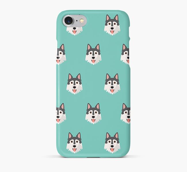 Phone Case with Northern Inuit Icons