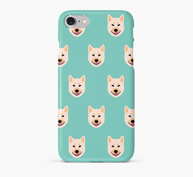 Phone Case with Buhund Icons