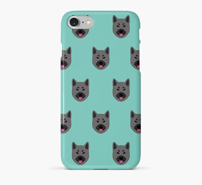 Phone Case with Elkhound Icons