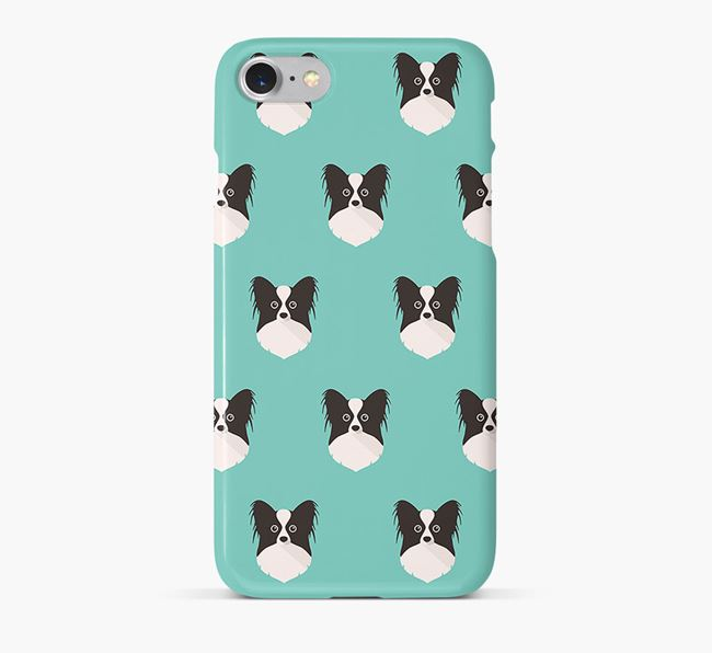 Phone Case with Papillon Icons