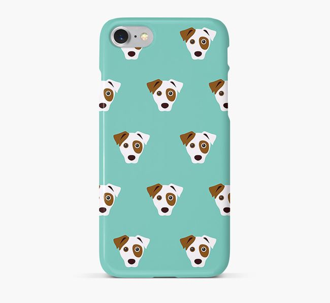 Phone Case with Parson Russell Icons